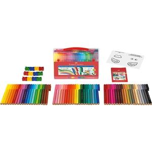 Image 2 - 80 Color Art Marker Pen Connector Fibre Tip Pen Kids Water Colour Pen Watercolour Colouring Drawing Pens for Children Doodling