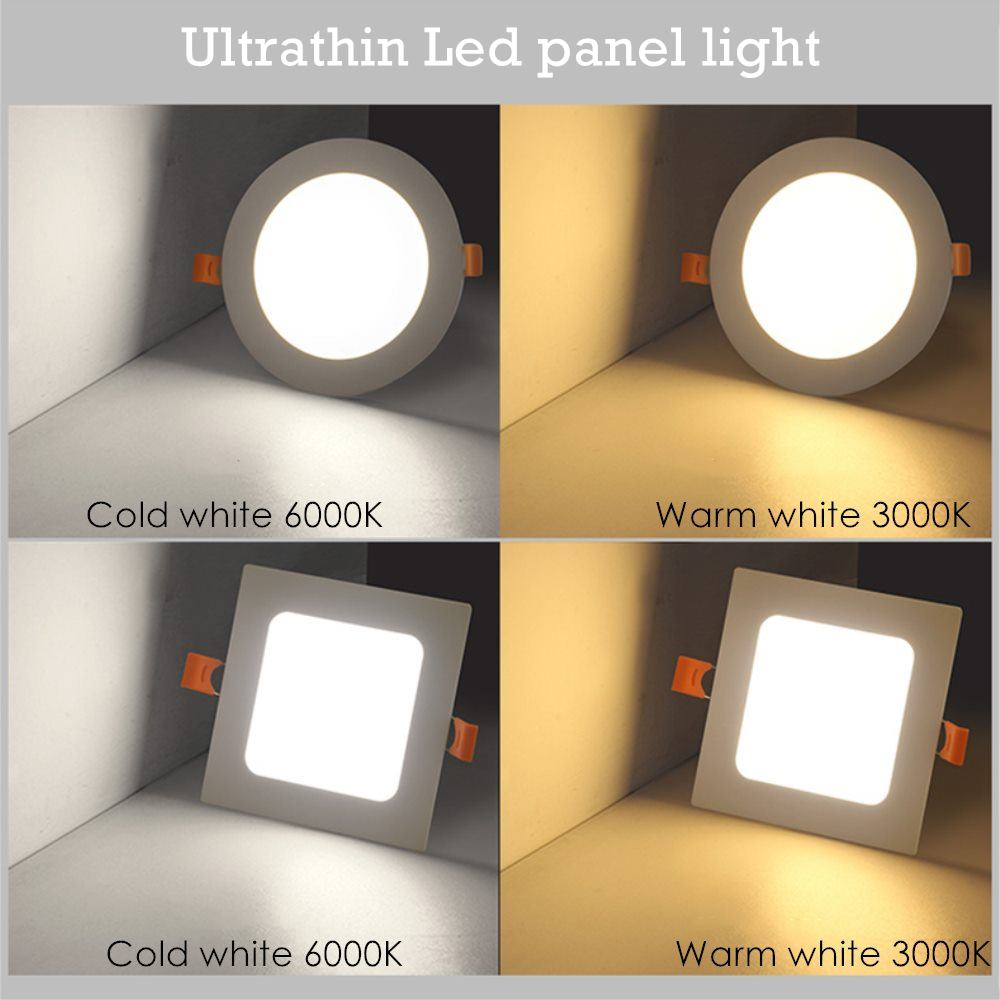 Panel Light Ultra Thin 6w Led Downlight