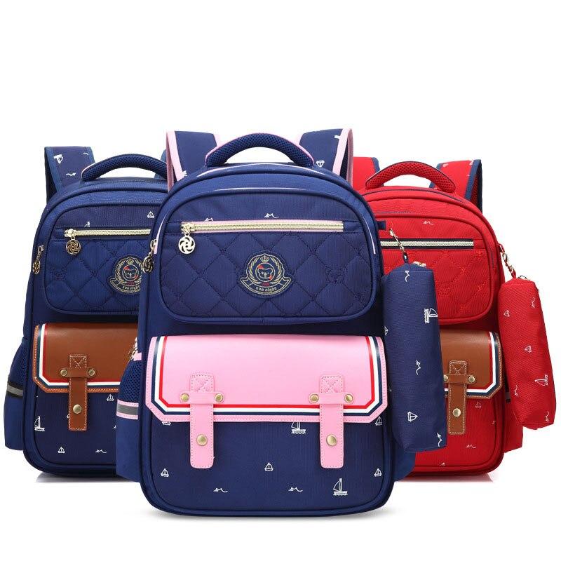 Waterproof Children School Bags Cute Kids Guy Bookbag Pack For Teenagers Girls Boys Student Backpack Mochila Bolsas Escola 2020