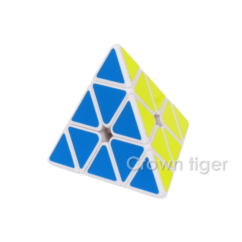 Image 3 - 3X3X3 Triangle Pyramid Magic Cube Puzzle cube professional Speed game Cubes fun Educational Toy Gifts For Children Kids-in Magic Cubes from Toys & Hobbies