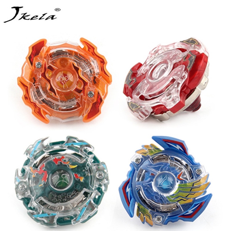 [Jkela] Beyblade Metal Plastic Fusion 4D Beyblade Spinning Top set Kids Game Toys Christmas Gift for Children with launcher
