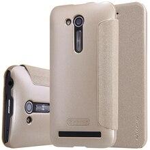 Для Asus Zenfone Идти (ZB452KG) телефон случаях Nillkin Искра кожаный чехол для ASUS ZB452KG телефон обложка защитный чехол