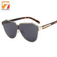 Flecha gafas de Sol Hombres Mujeres Marca Diseñador Gafas de Sol de gran tamaño Para Las Señoras de La Vendimia Oculos Mujer Shades Gafas De Sol Mujer