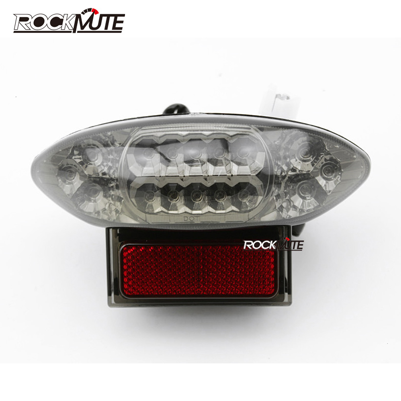 Integrated LED Rear Tail Light Brake Turn Signal Blinker Lamp For Suzuki GSX 1300R Hayabusa 1999