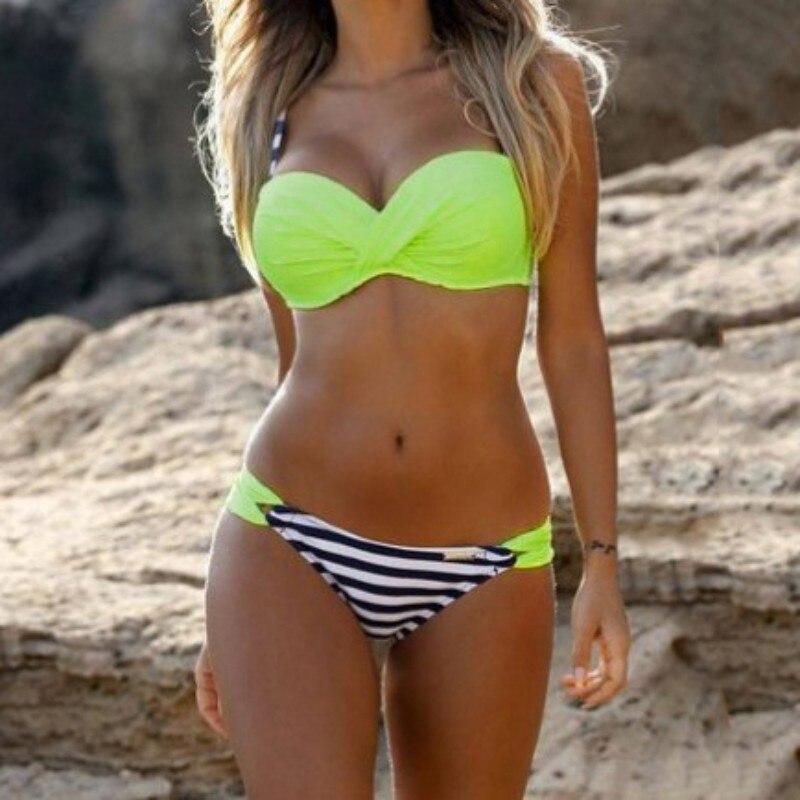 2017 Swimwear Swimsuit Women Bikini Push Up Bikini Set Sexy Bandage Brazilian Beach Bathing Suit Biquini Maillot De Bain Femme