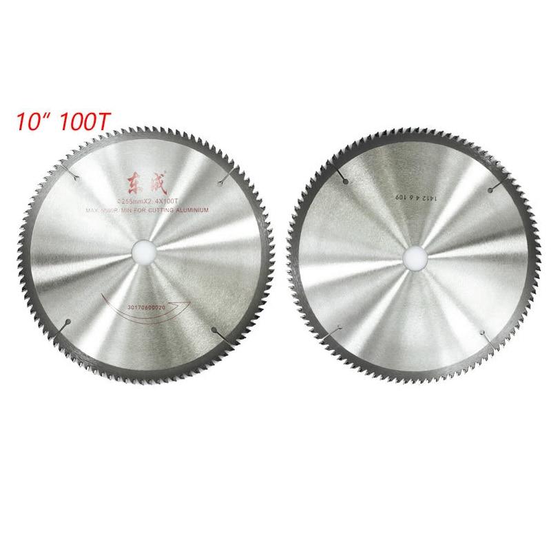10 Inch Saw Blade 100 Tooth Cutting Aluminium Saw Blade 254mm Circular Saw Blades 255mm*2.4*100T Saw Blade 1pc