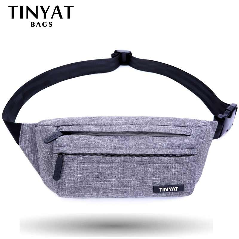 730f43c04cc5 Detail Feedback Questions about TINYAT Men Male Waist Bag Casual ...
