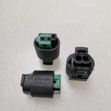 5/10/20/50/100 pcs/lot 2 Pin/Weg Stecker Für BMW E46 e39 X3 X5 E38 3 5 2 Air Temp Sensor Stecker 8E0973202 8E0 973 202 968405 1