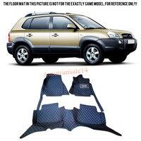 Accessories Interior Leather Floor Mats & Carpets Car Boot Foot Mat For Hyundai Tucson 2004 2005 2006 2007 2008