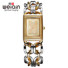 WEIQIN Women Watch 3ATM Waterproof Fashion Quartz Wristwatch Unique Design Clock Luxury Lady Bracelet Watches Relogio Feminino