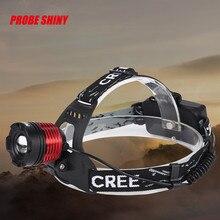 PROBE SHINY CREE Chips XM-L XML T6 LED Headlamp Headlight head light lamp L61215 fishing DROP SHIP
