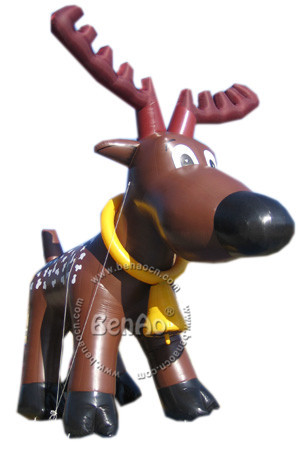 X048 Huge Inflatable Reindeer Christmas Shopping Center Yard Art Decoration + 1 CE/UL Blower + Repair Kids