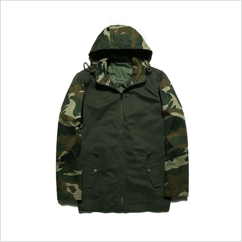 Outwear Y Tamaño Chaqueta Jacket Capucha Hombres Baggy Blue Jacket Abrigos army Green De Chaquetas Ds50118 Hip La Jacket Hop lake Moda Del Con Otoño Camuflaje Más Dark Primavera Cremallera Tqx5nH0f