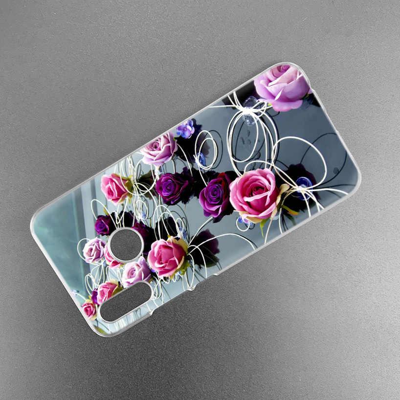 Red Rose Farfalla Del Fiore di Caso per Xiaomi Redmi Nota Nota 8 8T 7 9S 9 K30 Pro Zoom mi 9T 10 Lite 5G X2 F1 Dura del PC Della Copertura Del Telefono