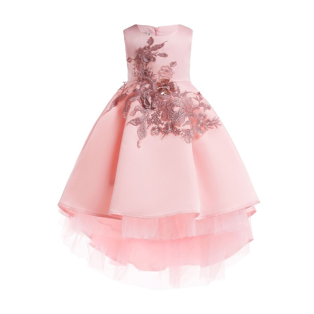 Baby S Embroidery Tails Dress 2018 Kids Ping Princess Clothes Infantis Elegant Dresses For Party And