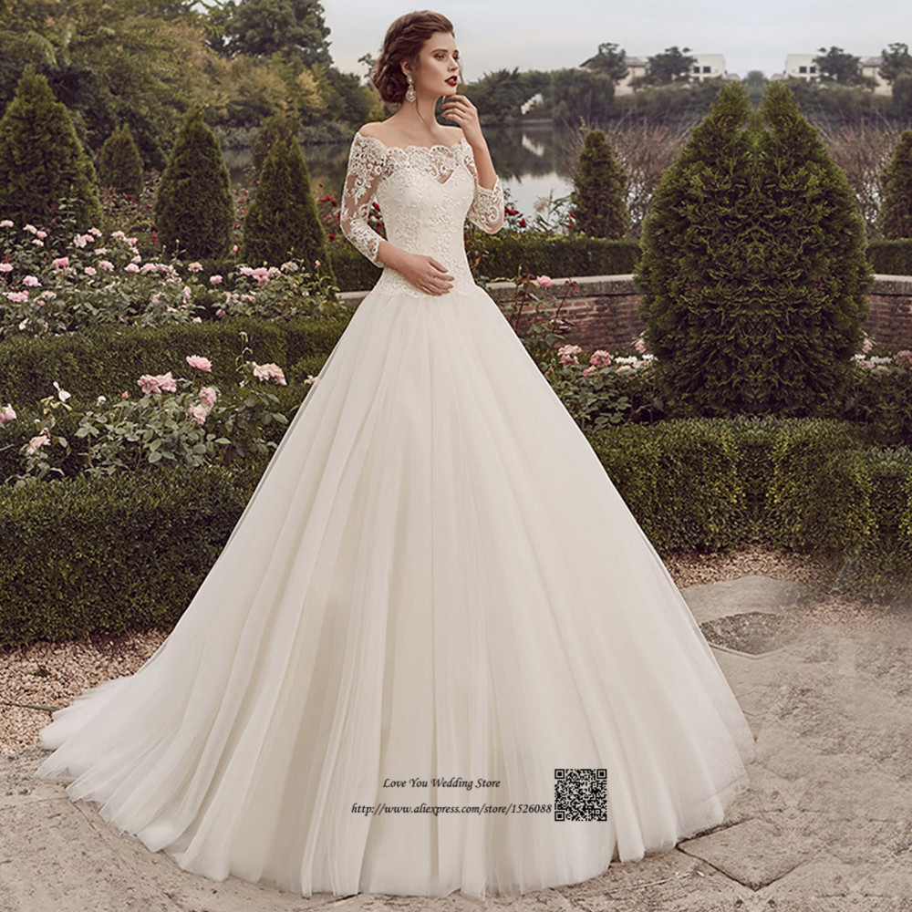 5f438ee92f Country Western Wedding Dresses Princess Wedding Gowns 2017 Boat ...
