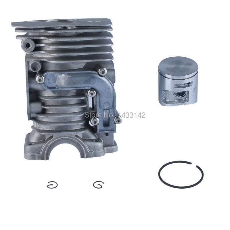 High Performance 44MM Cylinder Piston Assembly Kit Fit HUSQVARNA 450 450e Chainsaw #544 11 98-02 38mm engine housing cylinder piston crankcase kit fit husqvarna 137 142 chaisnaw