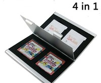 Metal Box Aluminum 3DS Card Case Game Memory Card Case Holders For 3DS 3DSLL