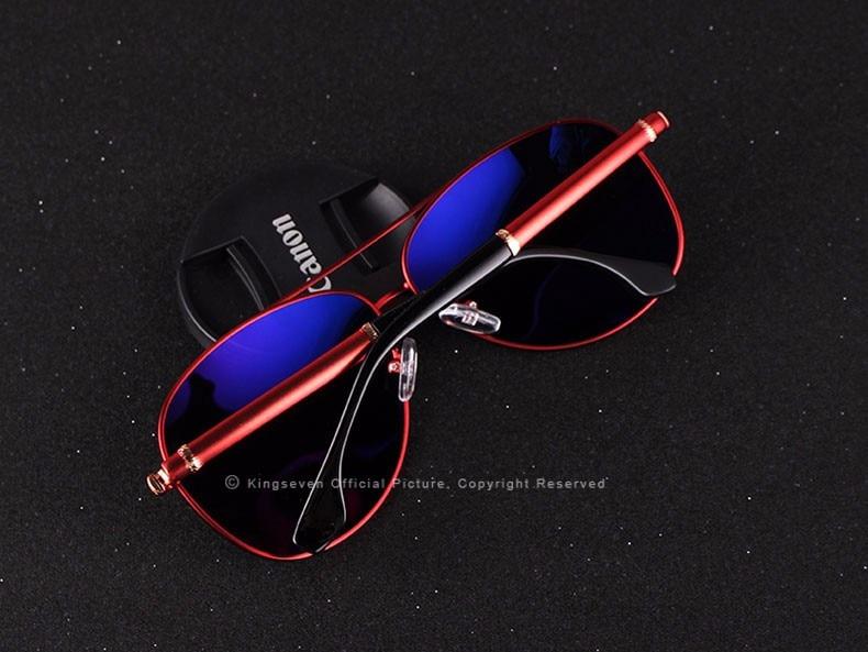 2017 Retro Quality Brand Original Sunglasses Men Polarized Lens Vintage Eyewear Accessories Gold Sun Glasses Oculos For Men 12