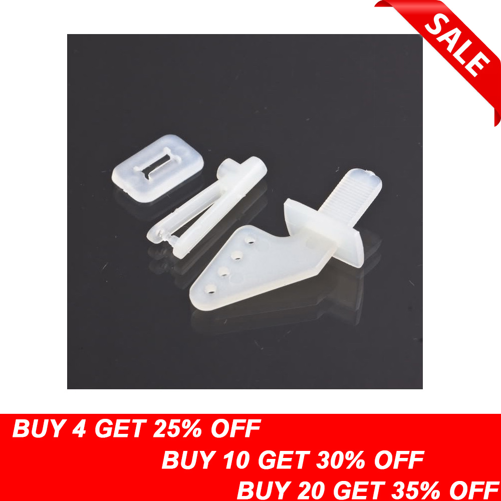 10set/lot  KT rudder angle four-hole + quick adjustment rocker KT foam chuck Airplane Parts Aircraft(China)