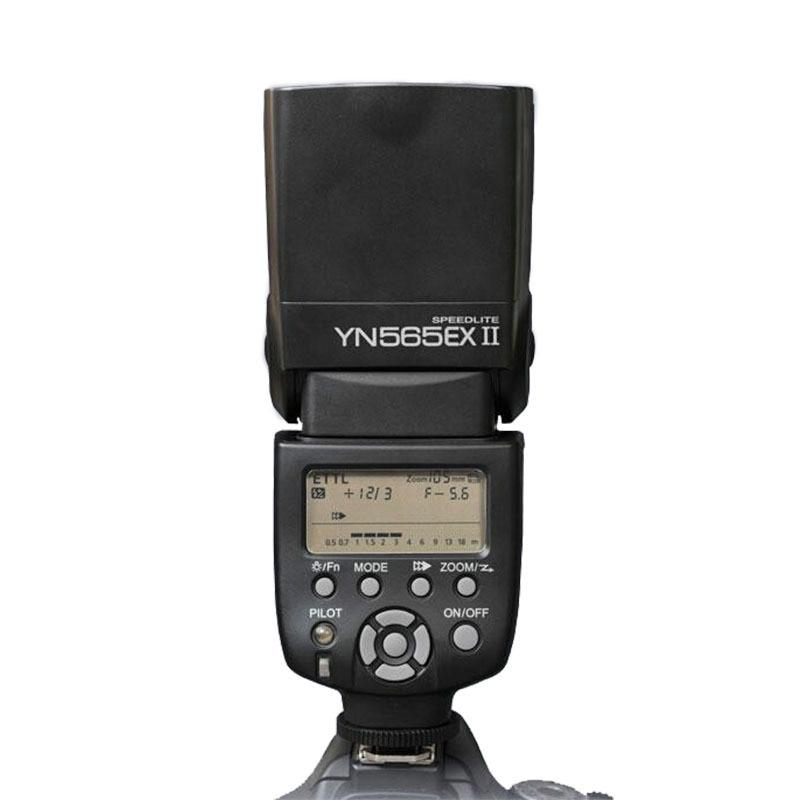 YONGNUO  YN-565EX II for Canon, YN565EX YN-565 EX ETTL E-TTL Flash Speedlight/ LED Speedlite 450D 500D 550D 600D 1000D 1100D yn e3 rt ttl radio trigger speedlite transmitter as st e3 rt for canon 600ex rt new arrival