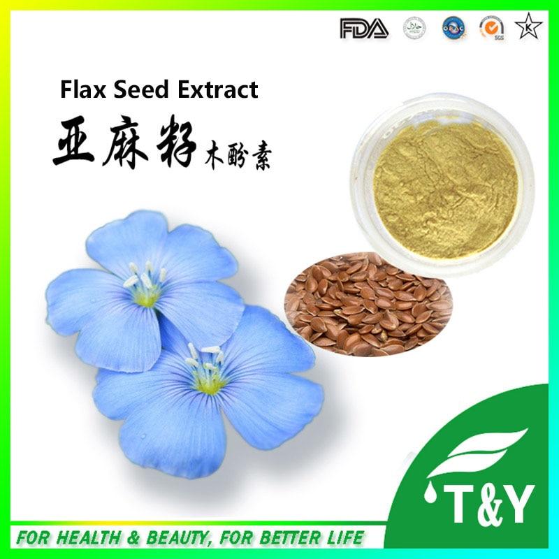 ФОТО Top Quality Flaxseed Extract Powder 300g/lot