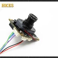 Широкий 2.8 мм Объектив H.264 1080 P 720 P 960 P ВИДЕОНАБЛЮДЕНИЯ IP модуль камеры совета с LAN кабель 16 мм объектив ONVIF P2P крытый