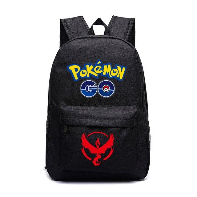 14ba49a8d117 Pokemon Moltres Sulfura Lavados Articuno Zapdos School Bag student bag  Notebook backpack Daily backpack Mochila Boys Girls Gift
