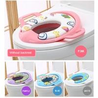 New Portable Infant Baby Potty Training Seat Toilet mat thick plush warm pad Folding Children Seat Pedestal Cushion Pad Ring