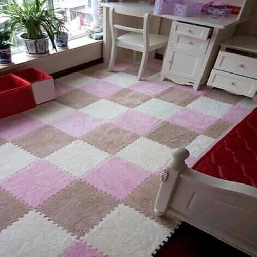 1 pc tapis de sol puzzle doux carrelage bebe enfants enfants jouer chambre decor