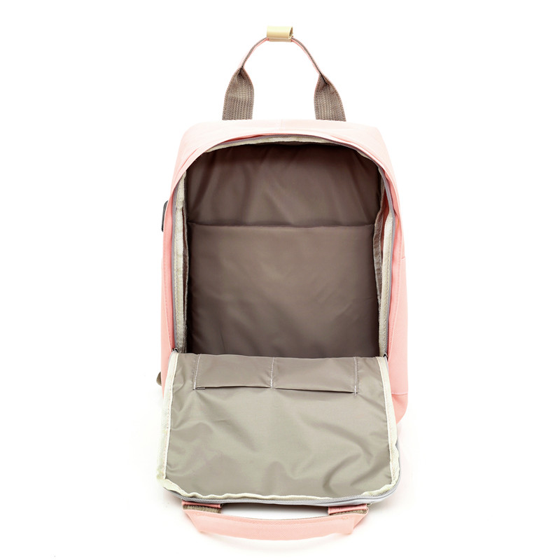 Image 5 - Multifunction women backpack girls shoulder bag High quality canvas laptop backpack schoolbag for teenager girls boys travel-in Backpacks from Luggage & Bags