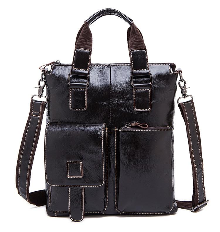 2017 Men messenger bags genuine leather bag men briefcase fashion designer handbags high quality famous brand business bag цены онлайн