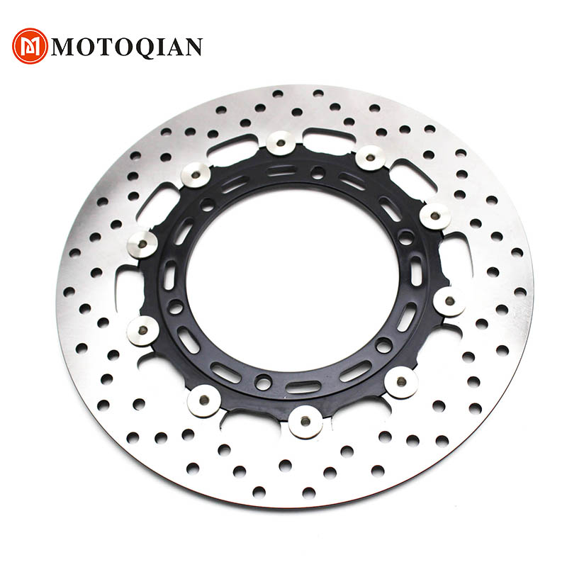 Clearance Front Brake Disk For Yamaha R1 1998 1999 2000 2001 2002 2003 YZFR1 YZF R1 YZF-R1 Rotor Disc Motorcycle Accessories motorcycle parts 1 pair black stainless steel mechanical motorbike front rear disc brake rotor fit for suzuki gsx r 750 2000 2001 2002 2003 front l r