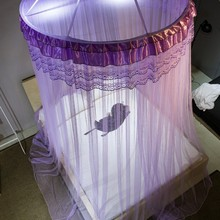 baby kids hung dome mosquito net European princess style gift for kids summer Anti-mosquito