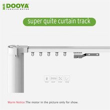 High Quality Customizable Super Quite Electric Curtain Track for Remote Control Electrical Curtain Motor for smart home