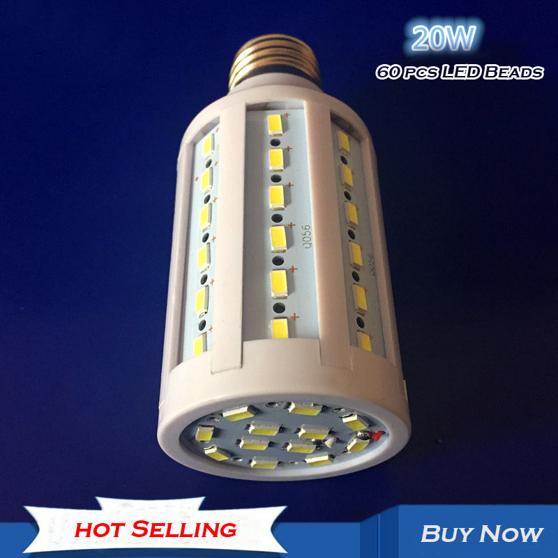 Hot Selling Led Corn Lamp Energy Saving Lamp Super Bright 6500K 5W 10W 20W 25W 50W 60W E27 Screw Mouth energy efficient 7w e27 3014smd 72led corn bulbs led lamps