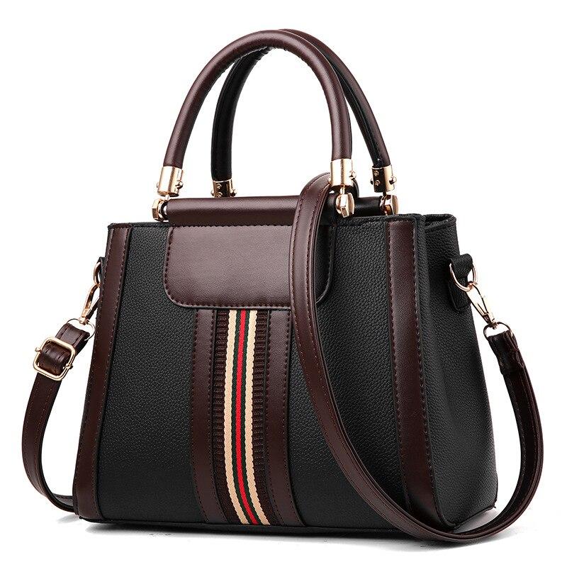 Vintage Handbag Women Brand New Design Handbag White and Red