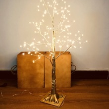 цена 150 LEDs 85cm Lighted Birch Tree LED Light Modern Indoor Tree Lamp Landscape Night Light Table Light Festival Christmas Decor онлайн в 2017 году