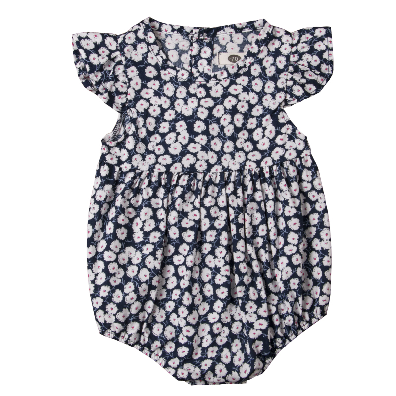 HTB1OilKaznuK1RkSmFPq6AuzFXar Pudcoco Flower Newborn Baby Girl Rompers Summer Baby Girls Clothing Ruffles Rompers Jumpsuit Playsuit