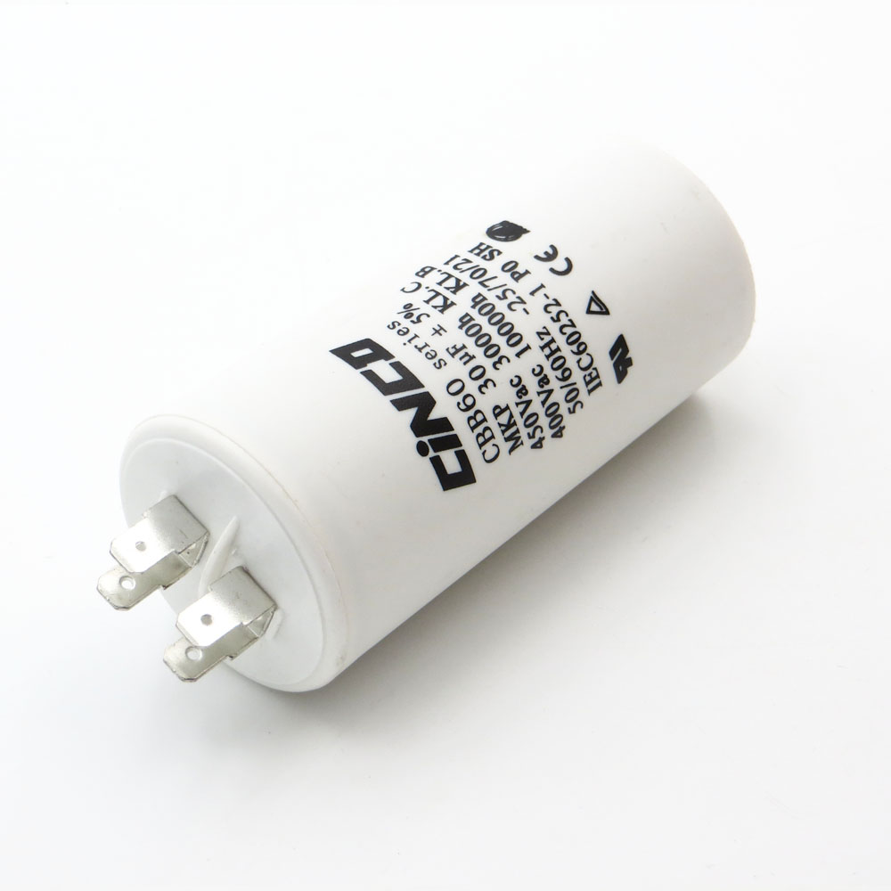 CBB60 Motor Run Capacitors 30uF 400V 450V 4pins SH DB Polypropylene Film Ac 450VAC Water Pump electrical engine 30mfd 35mf цена