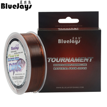 BlueJays Brand New Fishing Line Super Strong Japanese 200M Transparent Nylon Monofilament Copolymer Crap