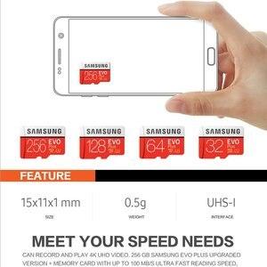 Image 3 - SAMSUNG micro sd Speicher Karte 128GB EVO plus U3 512GB 256GB 64gb Class10 micro sd Karte 32GB microSD UHS I sd/TF Karte für telefon