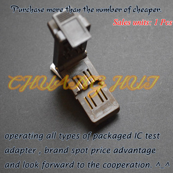 Clamshell TO-252-4L test socket TO252-4L Aging test socket 20pcs lot 040n03l to252