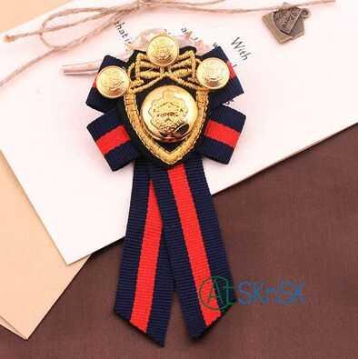 1 pcs/lot Eropa royal bordir patch Inggris bros untuk pakaian dekorasi Trendy Jangkar Navy Angin Badge Universitas Laki-laki Setelan