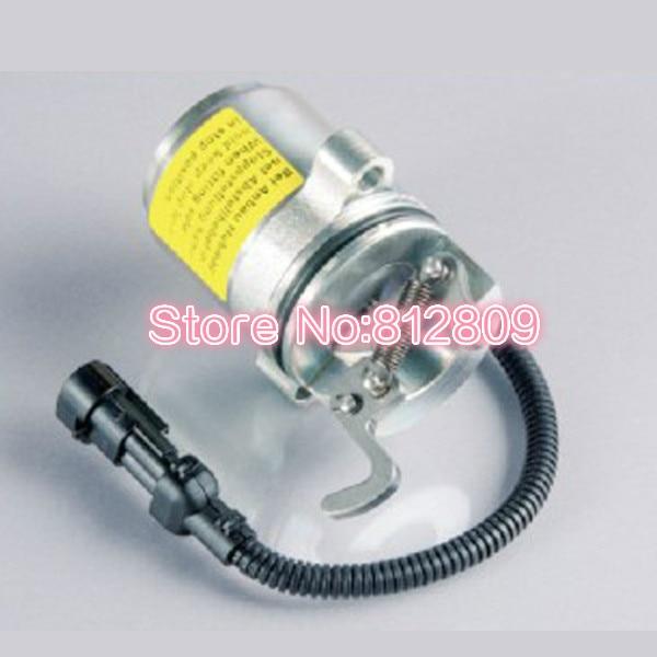 FUEL SHUTOFF SOLENOID VALVE 12V 04272956 / 0427 2956,free shipping fuel shutoff solenoid valve 3932017 sa 3742 12 for rsv solenoid coil free shipping