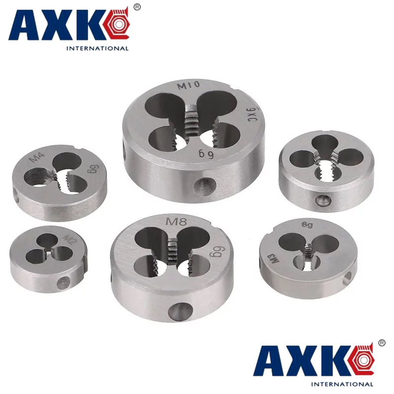 цена на Free shipping 1PC Alloy steel made UNF 1-1/4-12manual die threading tool for processing steel iron aluminum copper workpiece