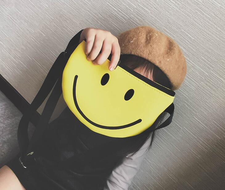 new 10 pieces Sweet Smile face eye Handbag smiley Shoulder Bag Ladies belt  Messenger Cross body 9cbefa1ebb