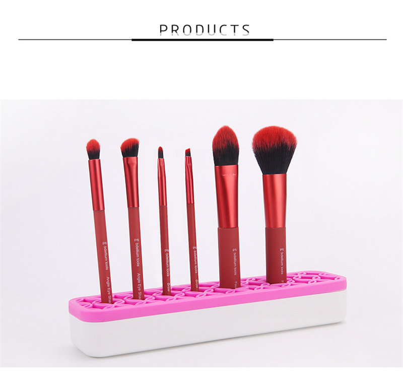 organizador suporte para cosméticos ferramenta compõem escova