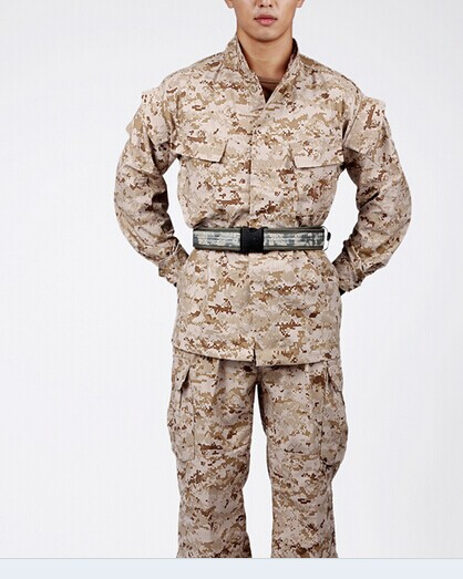 Us Army Military Uniform For Men Field Training Uniform Camouflage Desert Digital Military Uniform Jacket And Pants