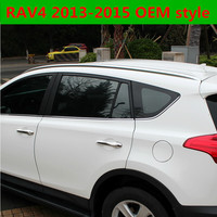 Для Toyota RAV4 2013 2014 2015 крыши стойки bar Чемодан Перевозчик бары Топ Стойки Rail Коробки Алюминий сплав